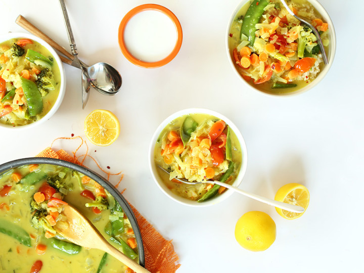 A 30 Minute Coconut Curry