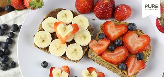 Valentine Gluten-Free / Dairy-Free/ Vegan / Vegetarian Breakfast Ideas